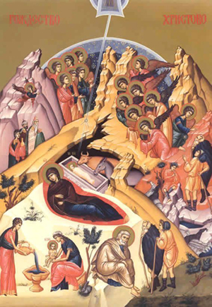 Христос се роди  Ikona%20Rozdestvo%20Hristovo
